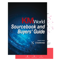 KMWorld Buyers Guide