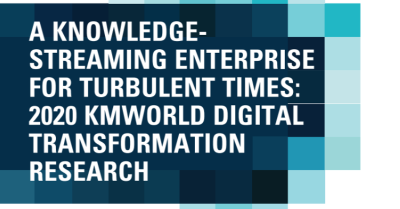 Building a Knowledge-Streaming Enterprise for Turbulent Times