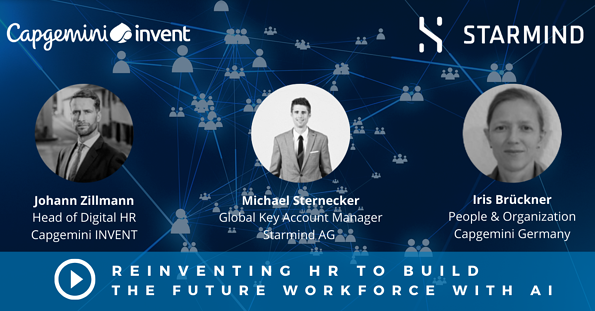 Reinventing HR and building the future workforce with Artificial Intelligence