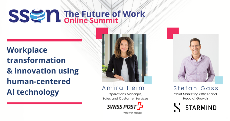 The Future of Work - Swiss Post & Starmind (LP banner)