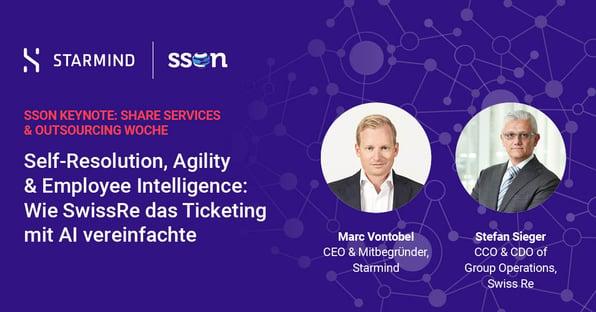 Self-Resolution, Agility & Employee Intelligence: Wie SwissRe das Ticketing mit AI vereinfachte